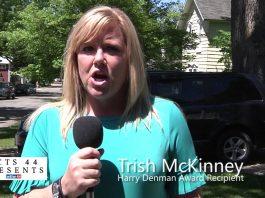 Trish McKinney, Recipient of the Harry Denman Award