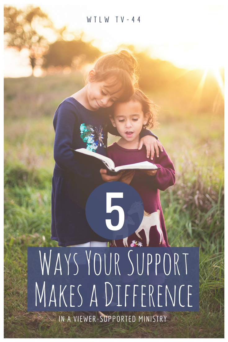 5 ways your support makes a difference