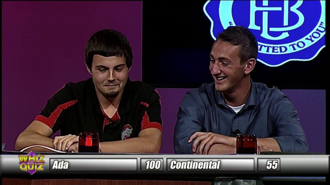 2018 Winter Whiz Quiz Episode 3 Ada vs Continental & Delphos St Johns vs Leipsic