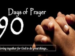 90 days of prayer Lima