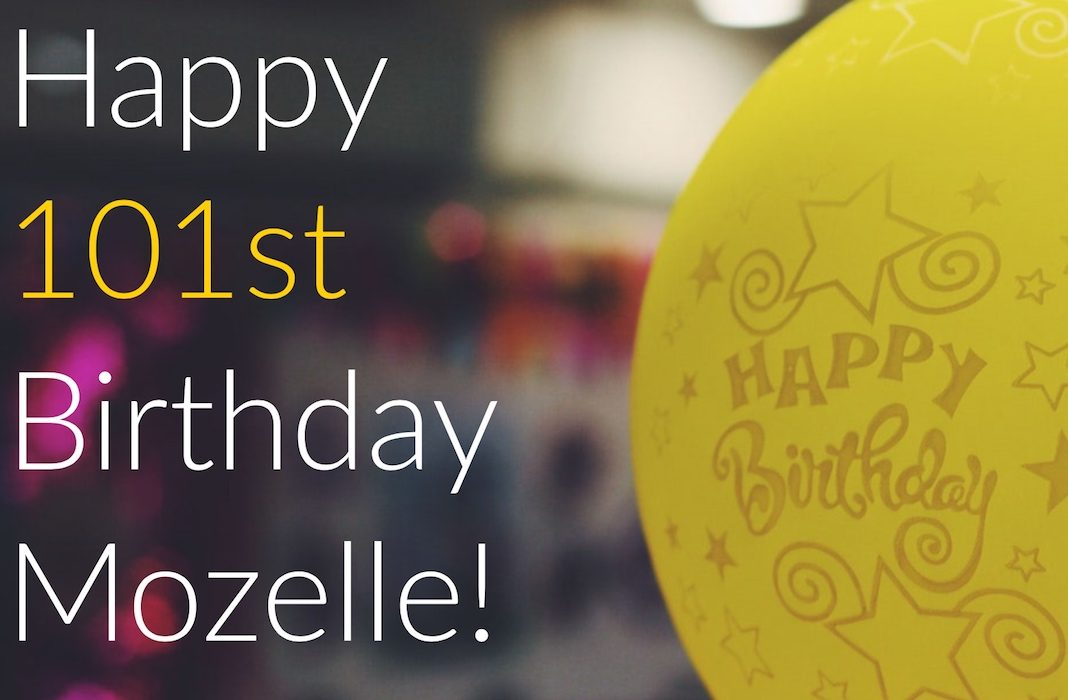 Happy Birthday Mozelle