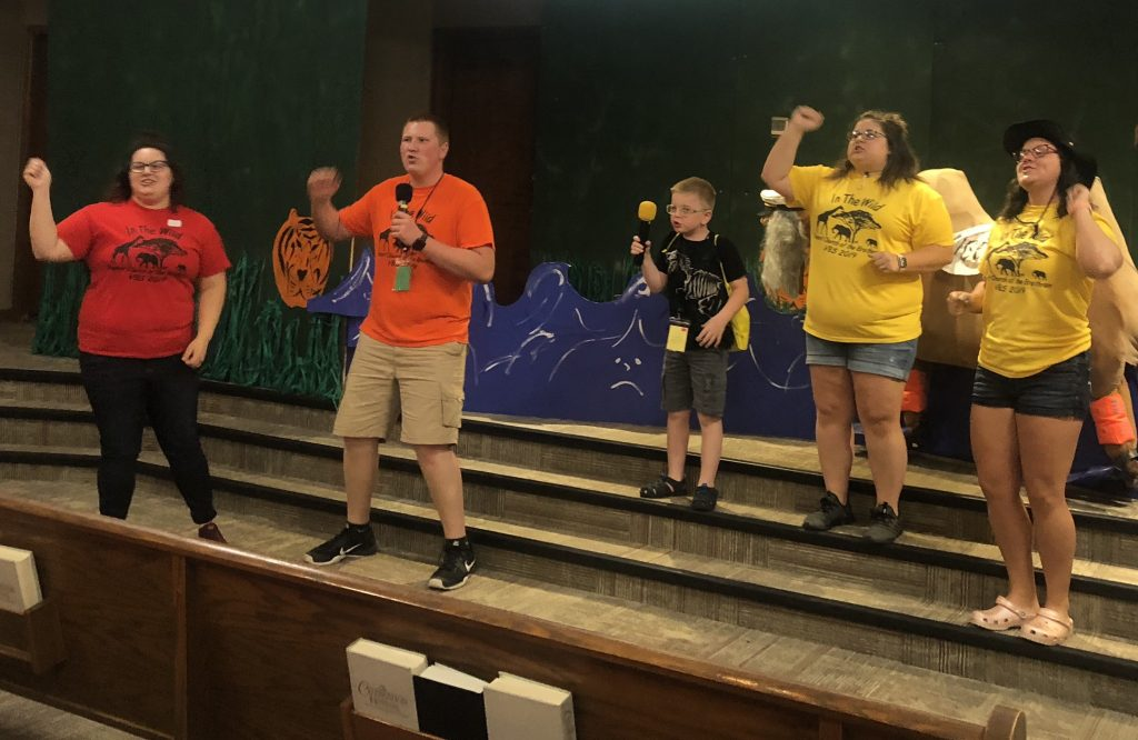 In the Wild! Dupont Church of the Brethren holds a WILD VBS